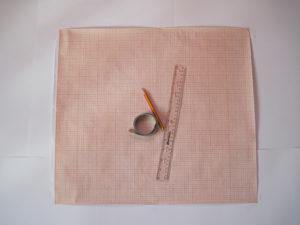 Выкройка основа прямой юбки