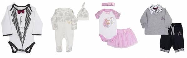 Красивая одежда для малышей.