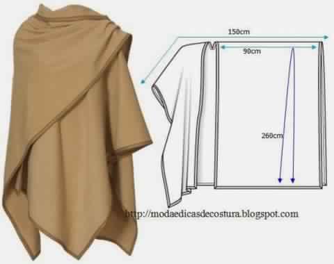 Выкройка жилета из искусственного меха