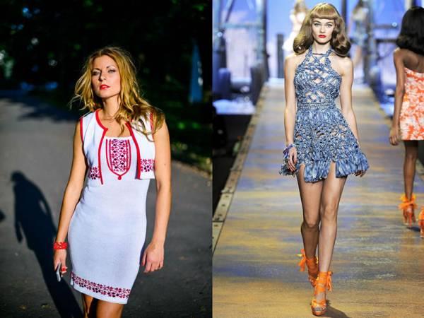 Украшение современной девушки - дизайнерский длинный сарафан