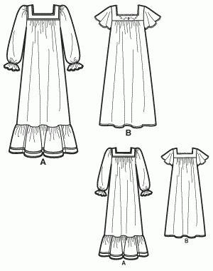 Построение выкройки рубашки для женщин