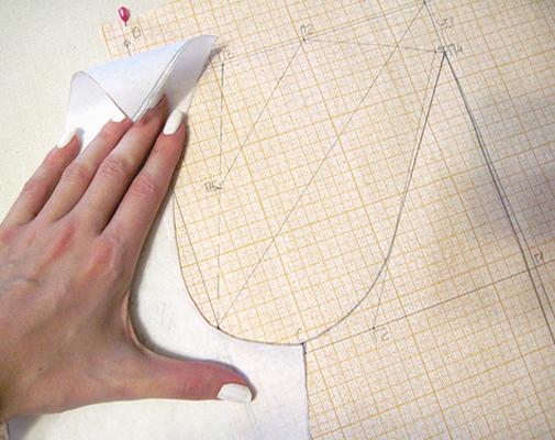 Построение выкройки рукава