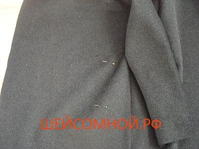 Выкройка основа пальто
