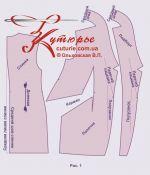 Выкройка удлиненного жилета женского