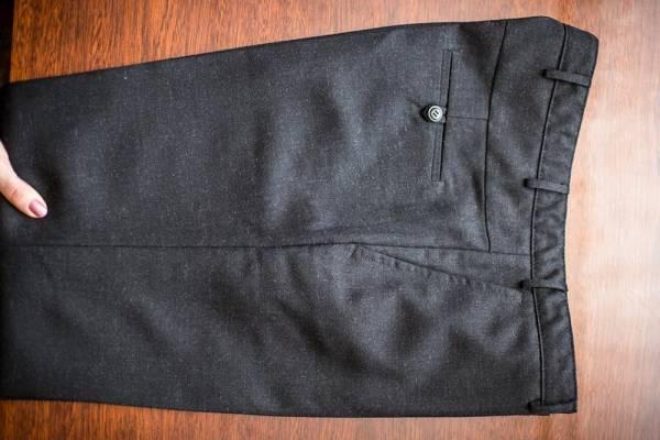 Построение выкройки мужских брюк