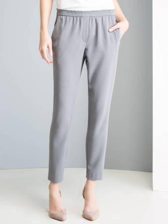 Выкройка женских брюк (для полных) | 450x338