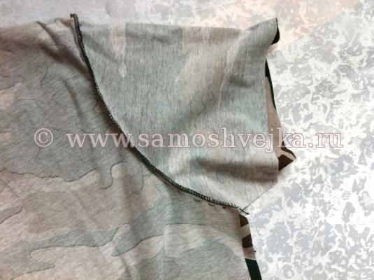 Выкройка мужской футболки с длинным рукавом
