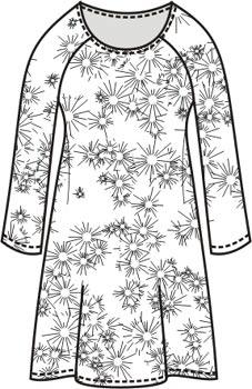 Выкройка праздничного платья
