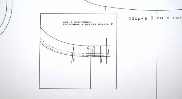 Печать выкройки в натуральную величину на а4