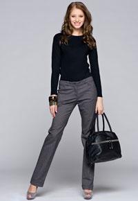 Основа выкройки брюк для женщин