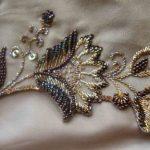 Вышивка из бисера на одежде